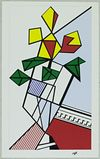 Roy  Lichtenstein  - Flowers