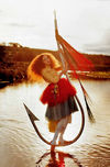 TIM WALKER - Lily on fish hook