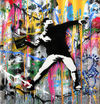 Mr. Brainwash -  Banksy Thrower