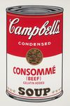 ANDY WARHOL - Campbell`s Soup (Beef Consommé)