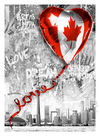 MR. BRAINWASH (Thierry Guetta) - We Love Canada