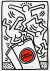 Keith Haring, Lucky Strike, 1987