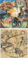 Alice  Bailly, Chevaux