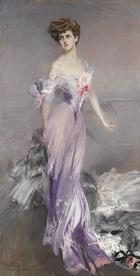 Giovanni Boldini, Portrait von Mrs. Howard-Johnston, 1906