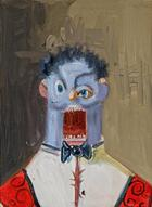 George Condo, The blue Rodrigo, 2009
