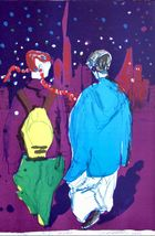 Rainer Fetting - New York Kids