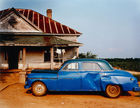Christenberry, William ◊ House and Car, near Akron, Alabama, 1978