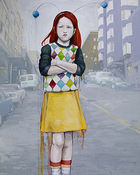 Irish Girl, 2009, oil on linen, 152 x 122 cm