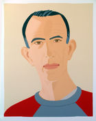 Alex Katz - Self Portrait