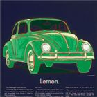 Andy Warhol Volkswagen Lemon Beetle