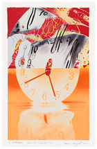 James Rosenquist Hole in the Center of the Clock Galerie Fluegel-Roncak