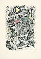 Chagall, Marc ◊ Les saltimbanques
