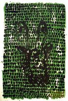 BASELITZ, GEORG ◊ Grünes Tuch (Green cloth)