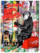 Galerie Flügel-Roncak - Mr. Brainwash - Every Day Life.