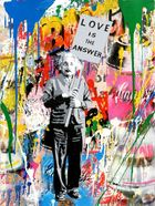 Galerie Flügel-Roncak - Mr. Brainwash - Einstein Love is the Answer.