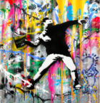 Galerie Flügel-Roncak - Mr. Brainwash Banksy Thrower