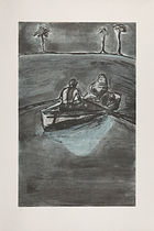 Doig, Peter ◊ Two People at Night (indigo)