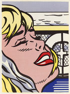 Roy Lichtenstein. Shipboard girl.