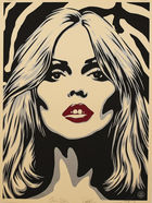 Debbie Harry Zebra Skin