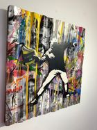 Galerie Frank Fluegel - Mr. Brainwash - Banksy Thrower.