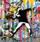 BRAINWASH auch Thierry Guetta (MBW), Mr. ◊ Banksy Thrower