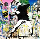 BRAINWASH auch Thierry Guetta (MBW), MR. ◊ Banksy Thrower Silkscreen