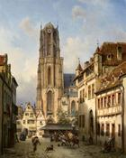 Michael Neher, Der Dom in Frankfurt am Main, 1860