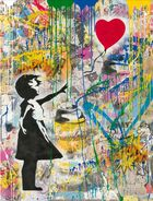 BRAINWASH auch Thierry Guetta (MBW), MR. ◊ Balloon Girl (large)