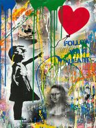 BRAINWASH auch Thierry Guetta (MBW), MR. ◊ Balloon Girl (Mona Lisa)