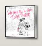 BRAINWASH (Thierry Guetta), MR. ◊ We are all in this together (Fuchsia)