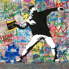 Galerie Frank Fluegel - Mr. Brainwash Banksy Thrower