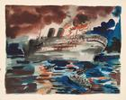 George Grosz, Morro Castle, 1934