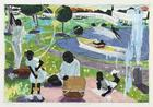 "Kerry James Marshall, Study for ""Past Times"", 1997"