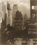 Alfred Stieglitz, New York. North towards Squibb Building, 1931