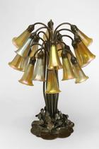 Lilly-Lampe, Tiffany Studios, New York 1910