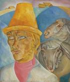 Boris Grigoriev, Shepherd of the Hills, 1920