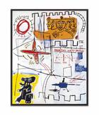 Jean-Michel Basquiat, Alpha Particles, 1984