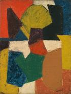 Serge Poliakoff, Composition abstraite, 1952