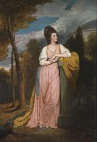 George Romney, Portrait of Lady Elizabeth Capell, Lady Monson, 1778