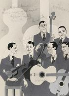 Carlo Boger, Quintette du Hot Club France, 1936