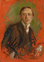 August Macke, Portrait Karl Keck, 1907