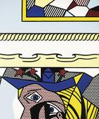 Roy Lichtenstein, Two Painting with Dado, 1983