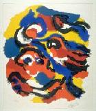 Karel Appel, Abstract Composition, 1958