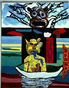 Karel Appel, Discovery, 1986