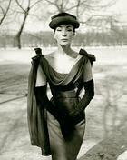 Walde Huth, Dior, Starmannequin Lucky, Paris 1956