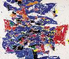 Sam Francis, Round the World, 1958/59