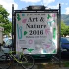 "Plakat zum ""Meraner Frühling: Art & Nature. Walking with Senses"", 2016"