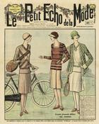 Le Petit Echo de la Mode, Titelseite, 21. April 1929