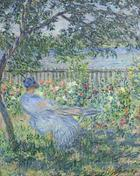 Claude Monet, Die Terrasse in Vétheuil, 1881