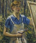 Lee Krasner, Self-Portrait, um 1928
